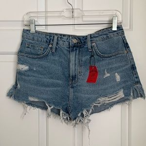 Forever 21 Distressed Jean Shorts Sz. 28